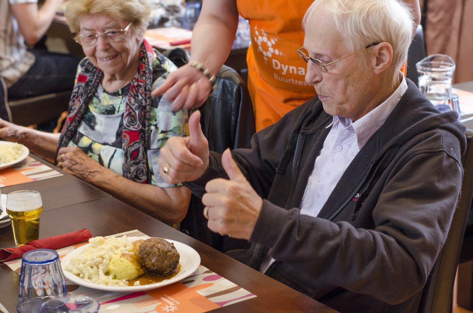 Bingo & Diner, servicepunt Het Brinkhuis, Dynamo, Amsterdam