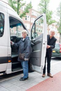 Samen op stap, Huis van de Wijk Rivierenbuurt, ouderen, Dynamo, Amsterdam