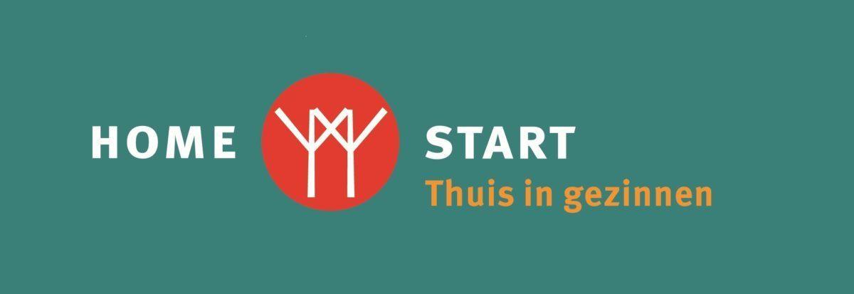 Het logo van Home-start